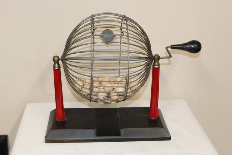 1940s Bingo Cage For Sale 8