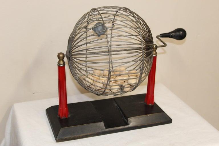 1940s Bingo Cage For Sale 9