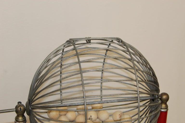 Mid-20th Century 1940s Bingo Cage For Sale