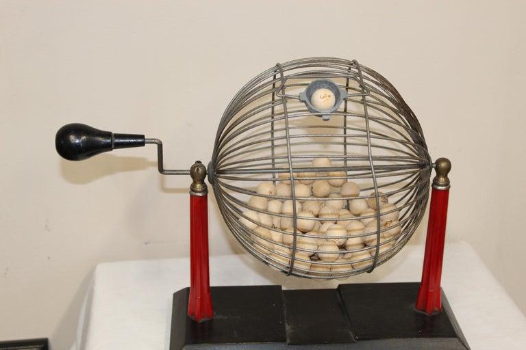1940s Bingo Cage For Sale 1
