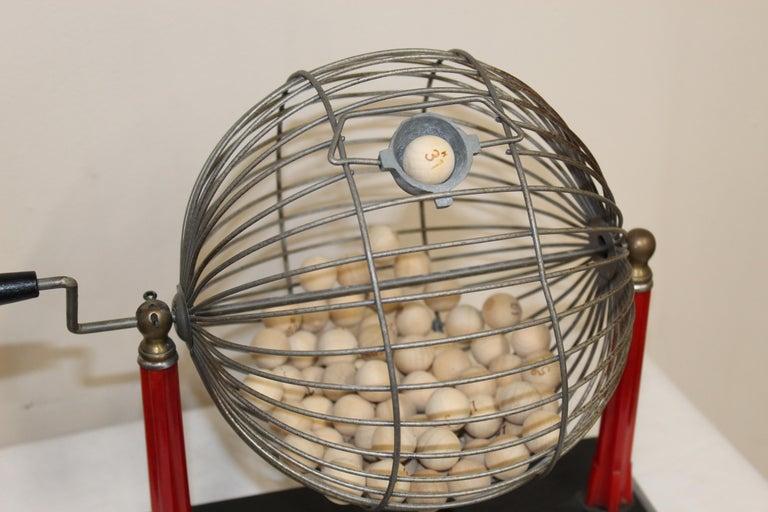 1940s Bingo Cage For Sale 2
