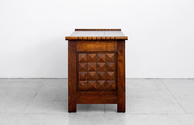 French 1940s Charles Dudouyt Desk For Sale
