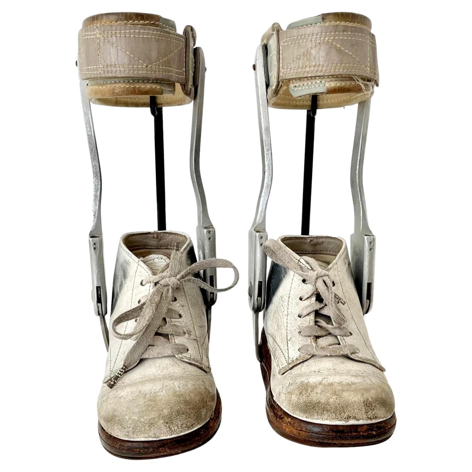 1940's Children's Leg Braces