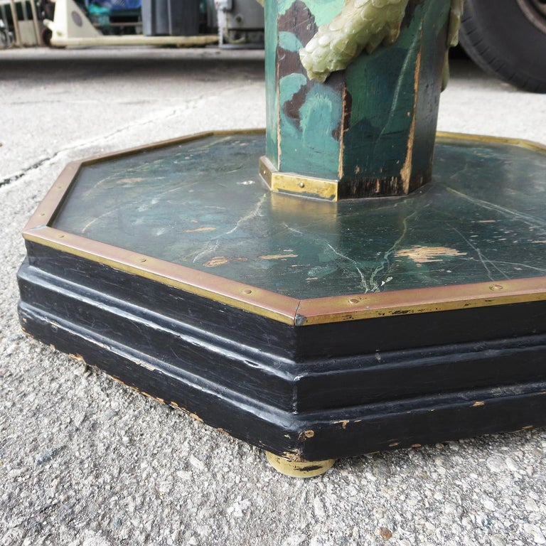 1940' Chinese Stone Dragons Side Tables For Sale 1