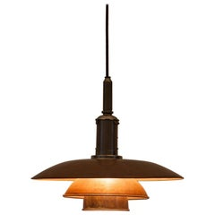 1940s Copper Ceiling Lamp 3.6 / 3 by Poul Henningsen