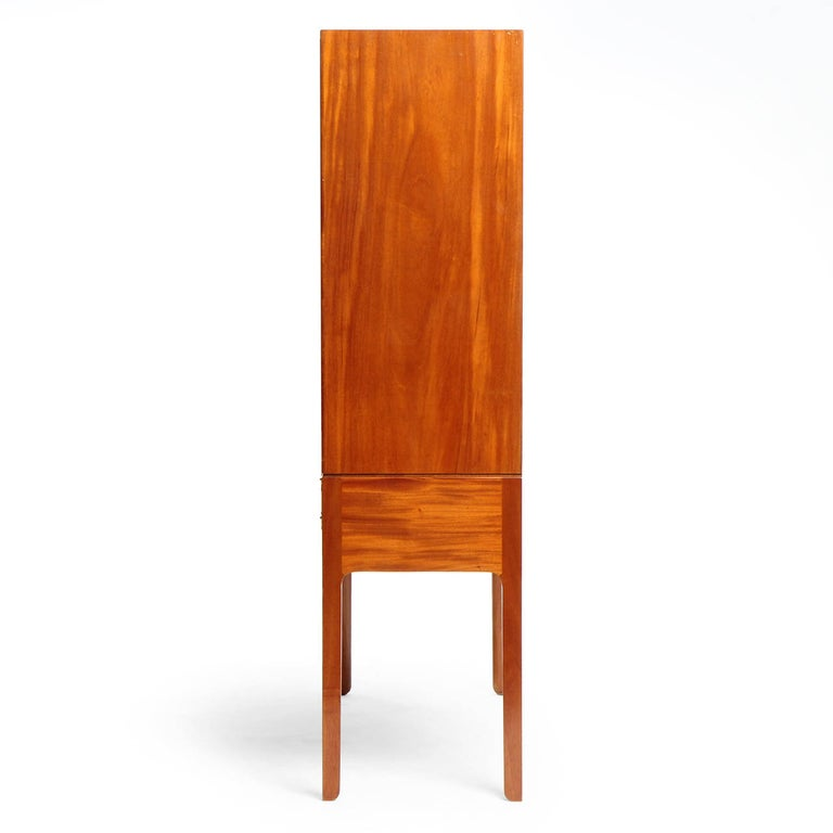 Mid-20th Century 1940s Danish Mahogany Cabinet by Ole Wanscher for A.J. Iversen For Sale