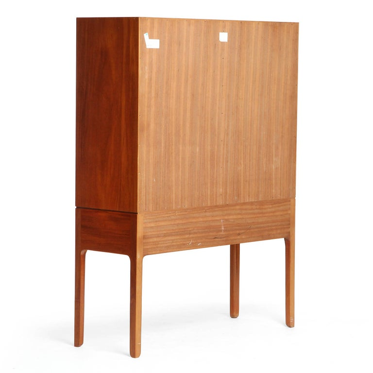 1940s Danish Mahogany Cabinet by Ole Wanscher for A.J. Iversen For Sale 2