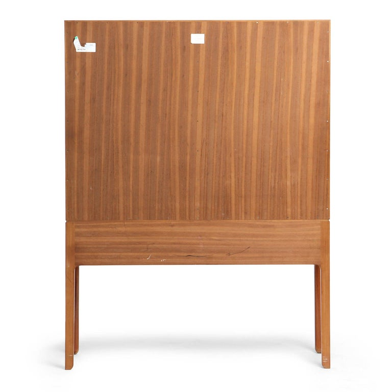 1940s Danish Mahogany Cabinet by Ole Wanscher for A.J. Iversen For Sale 3