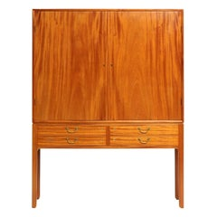 1940s Danish Mahogany Cabinet by Ole Wanscher for A.J. Iversen
