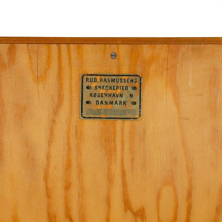 1940s Danish Pine Wardrobe by Mogens Koch for Rud Rasmussen For Sale 1