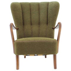 1940s Danish Wing Chair