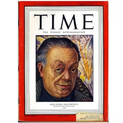 1940s Diego Rivera Time Magazine