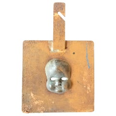1940s Doll Mold of a Baby Face