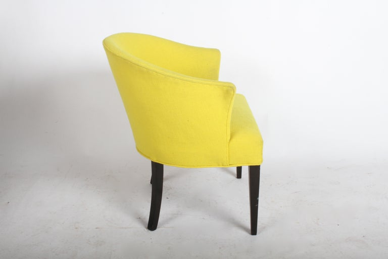 Mid-Century Modern 1940s Edward Wormley for Dunbar Occasional or Desk Chair For Sale