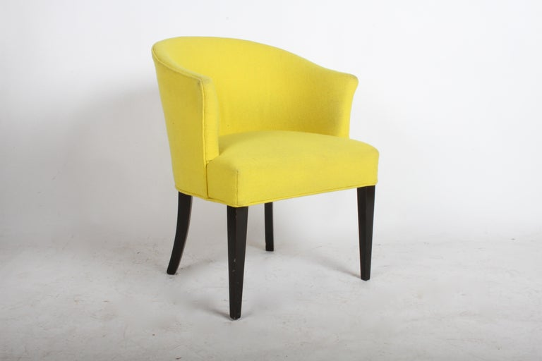 Mid-20th Century 1940s Edward Wormley for Dunbar Occasional or Desk Chair For Sale