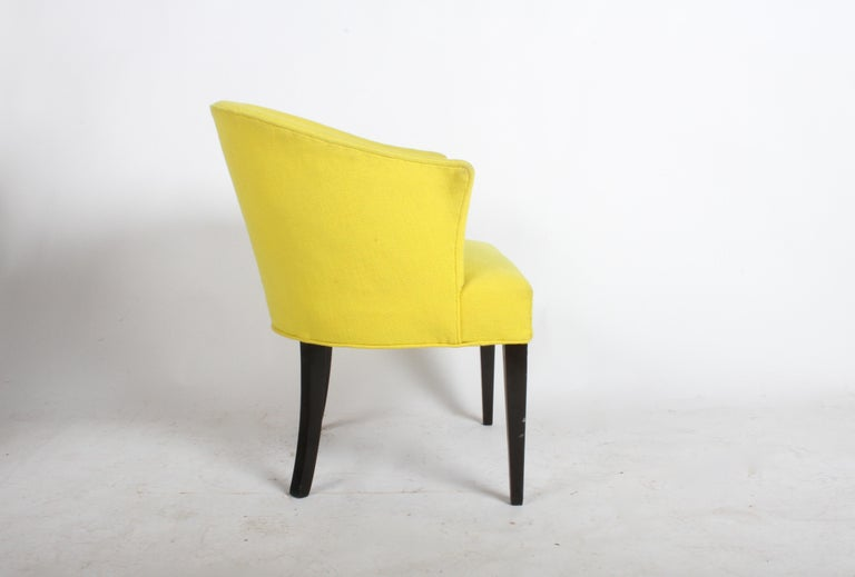 1940s Edward Wormley for Dunbar Occasional or Desk Chair For Sale 1