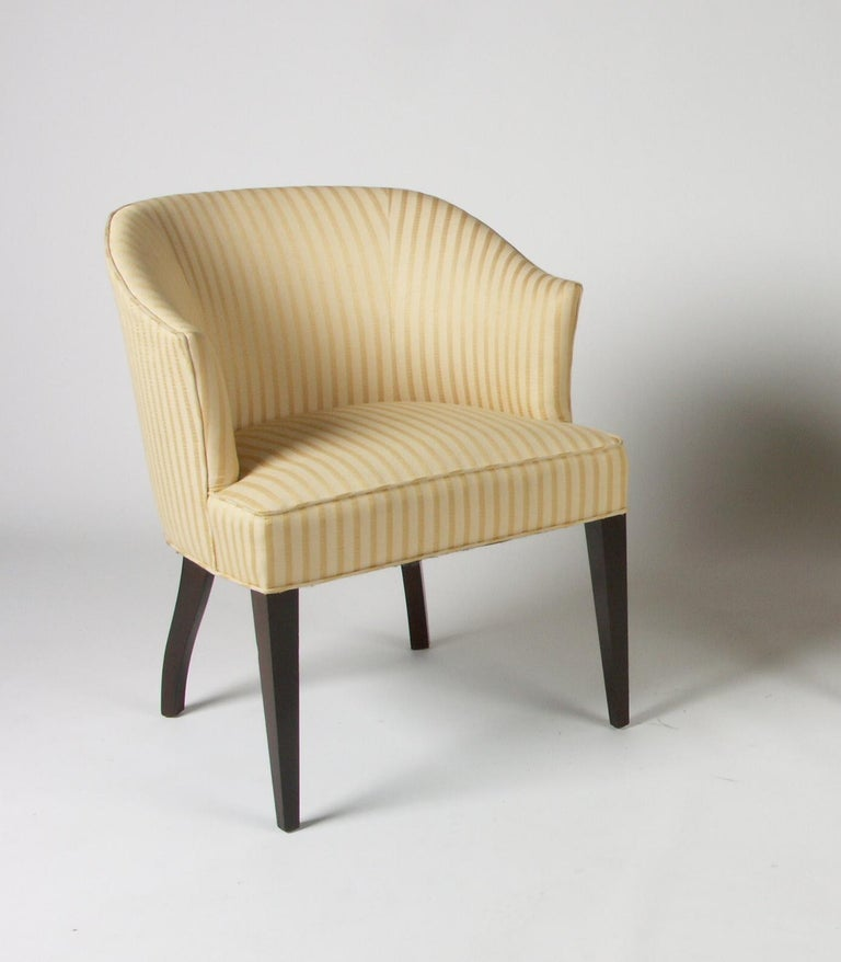 1940s Edward Wormley for Dunbar Occasional or Desk Chair For Sale 2