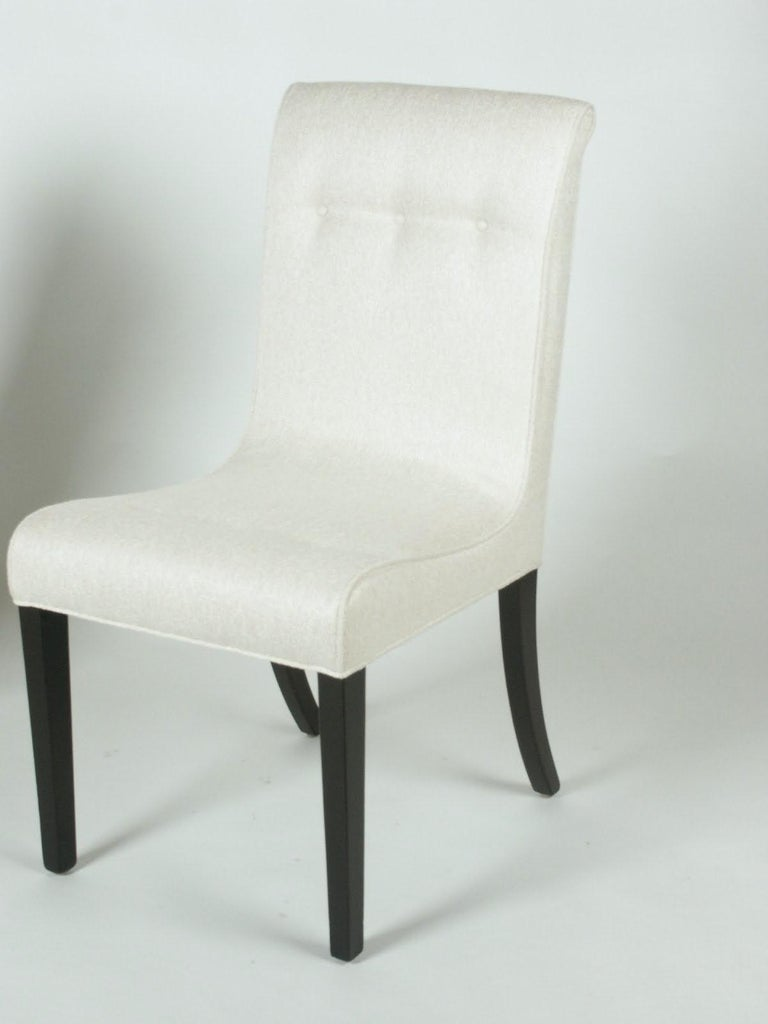 1940s Edward Wormley for Dunbar Set of Four Side Chairs For Sale 1