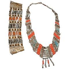 Egyptian Revival Bracelets