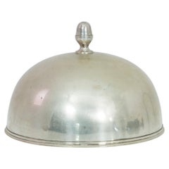 1940s European Silver-Plated Lid
