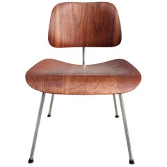1940s Evans Edition Eames DCM Dining Chair in Walnut