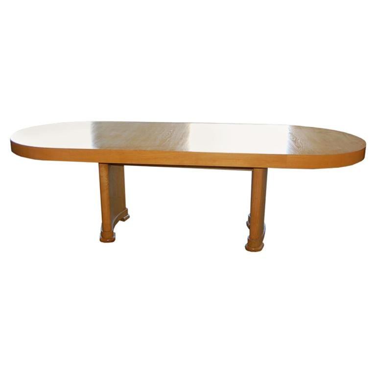 1940's Finnish Dining/Console Table in Oak