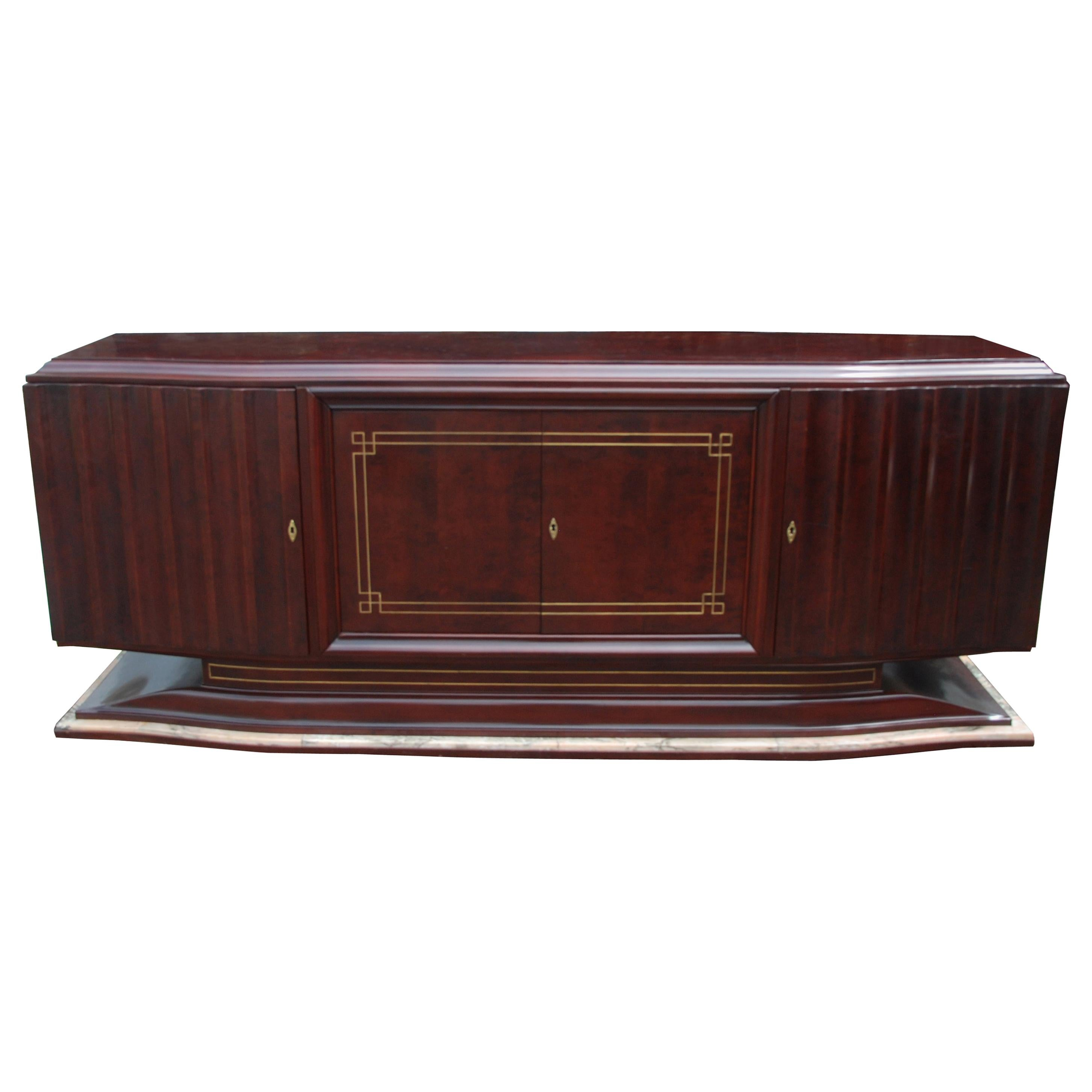 1940s French Deco Sideboard