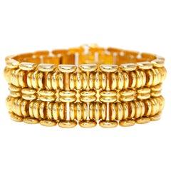1940s French Gold Bracelet