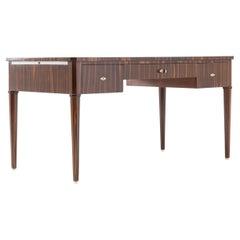 1940s French Macassar Desk
