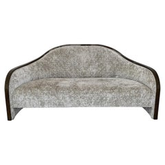 1940s French Macassar Sofa Style of Ruhlmann