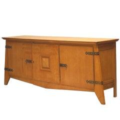 1940's French Oak Sideboard