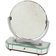 1940s French Venetian Vanity Mirror