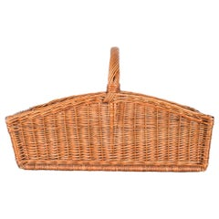 1940s French Wicker Basket