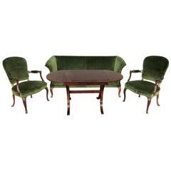1940s Frits Henningsen Salon Suite
