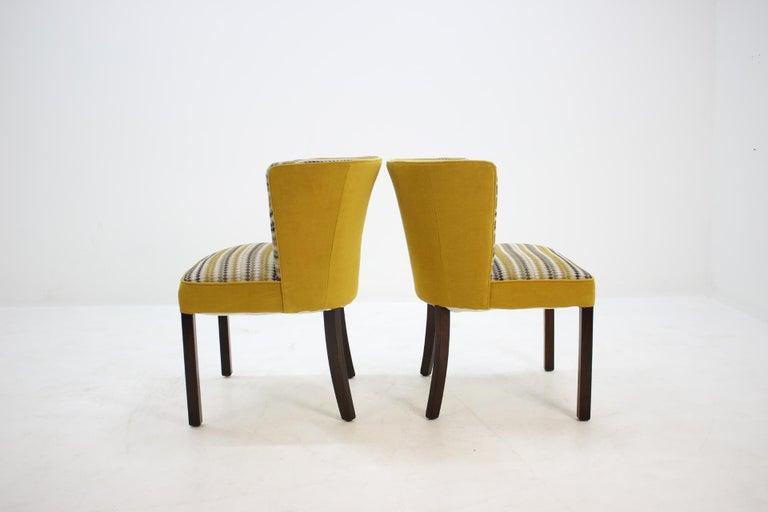 Danish 1940s Fritz Hansen Armchair, Set of 2 For Sale