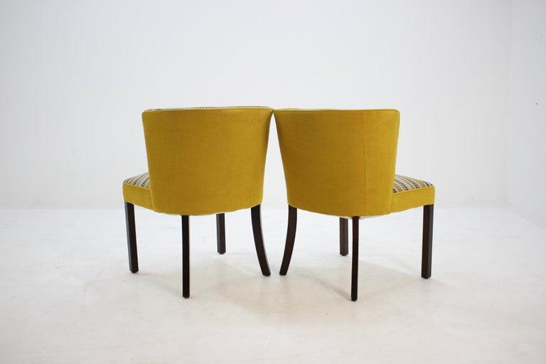 Mid-20th Century 1940s Fritz Hansen Armchair, Set of 2 For Sale
