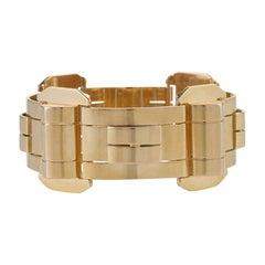 1940s Gold Bracelet
