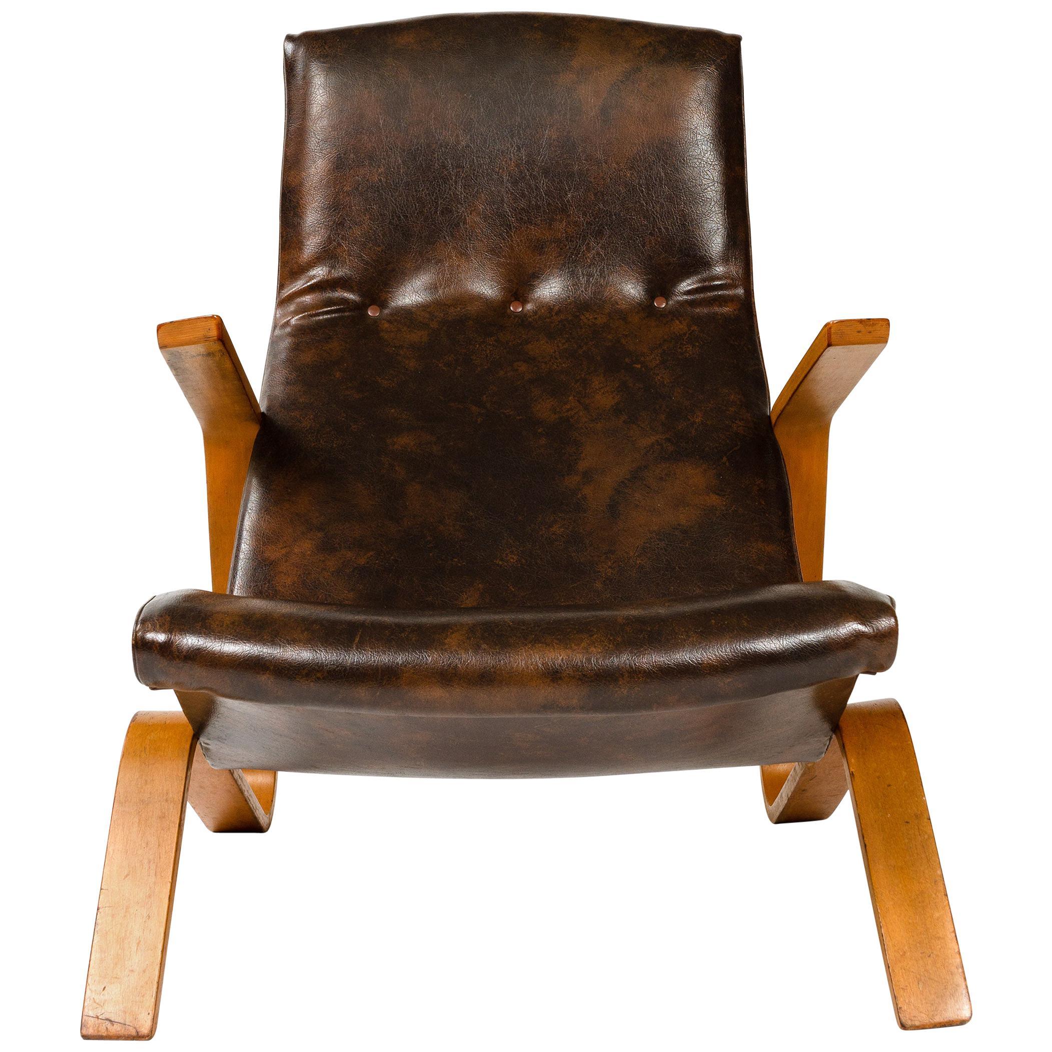 1940s Grasshopper Chair by Eero Saarinen for Knoll