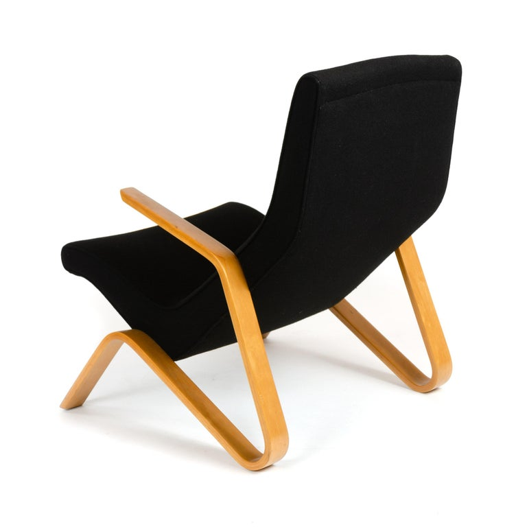 American 1940s Grasshopper Lounge Chair by Eero Saarinen for Knoll