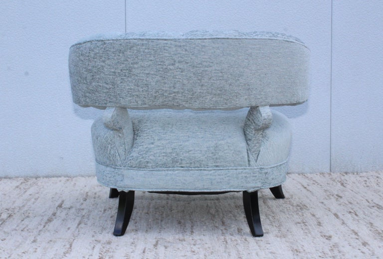 1940s Grosfeld House Attributed Slipper Lounge Chair For Sale 6