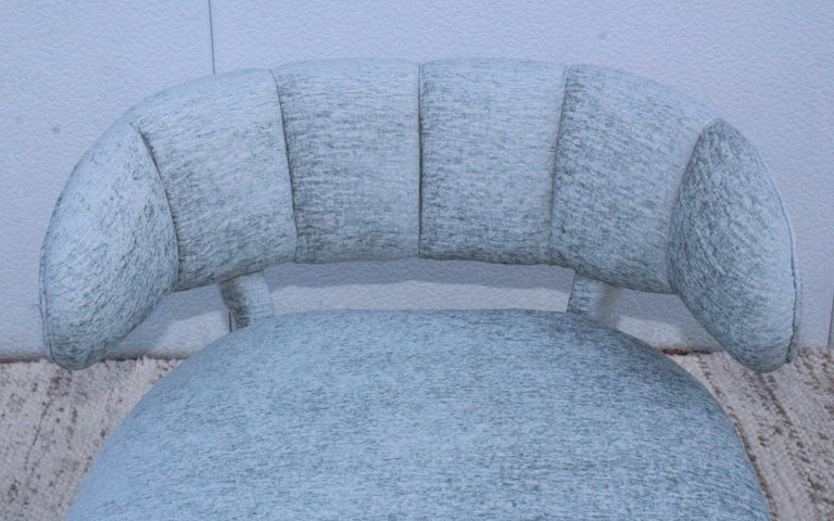 1940s Grosfeld House Attributed Slipper Lounge Chair For Sale 7