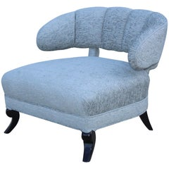 1940s Grosfeld House Attributed Slipper Lounge Chair