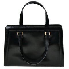 Hermes Black Bag, 1940s