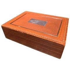 1940s Hermès Dupré-Lafon Flip Top Cigarette Box