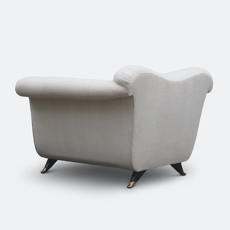 1940s Italian Armchairs Attributed to Guglielmo Ulrich For Sale 7