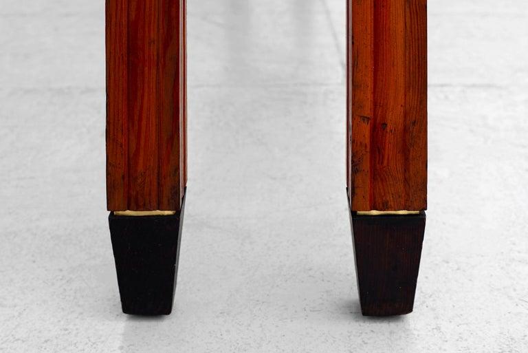 1940s Italian Oak Bench For Sale 2