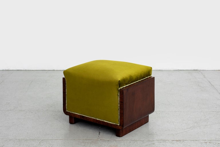 1940s Italian Ottomans In Good Condition For Sale In Los Angeles, CA