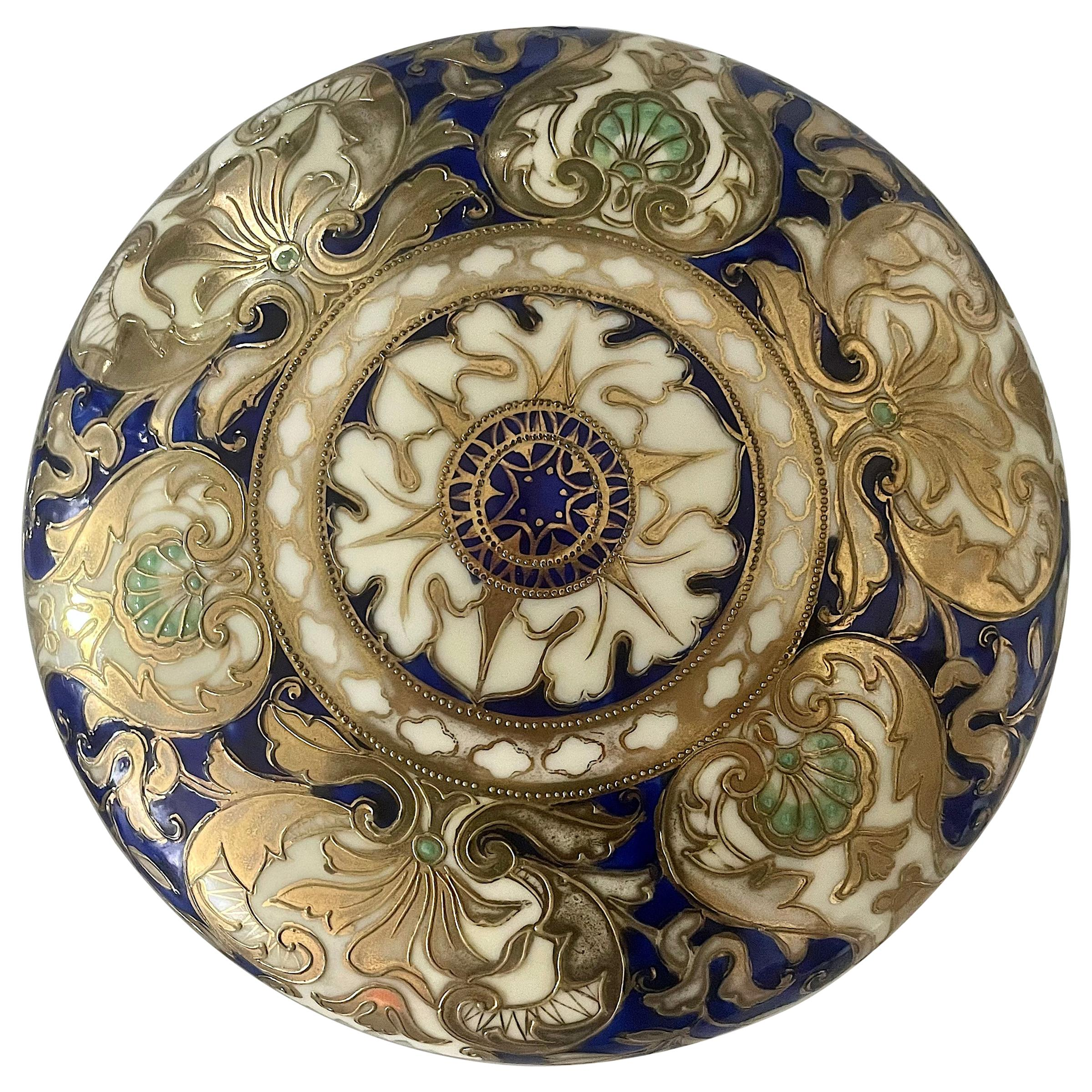 1940's Japanese Porcelain Lidded Bowl by Noritake
