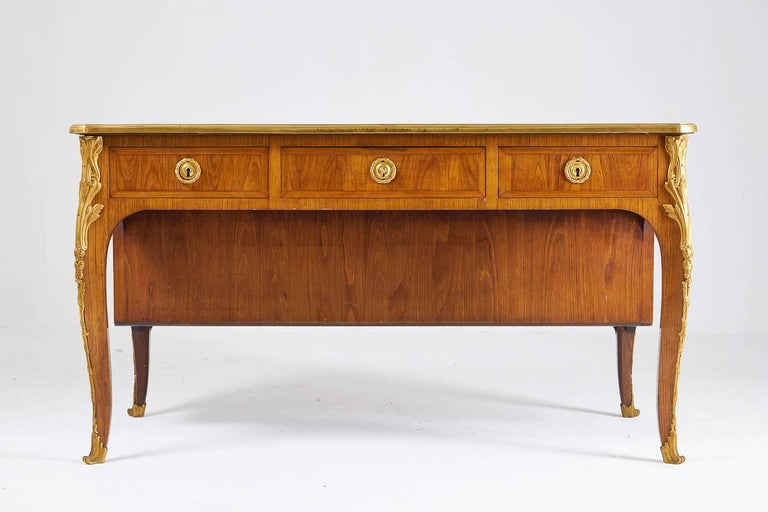 1940s Kingwood Bureau Plat In Good Condition For Sale In Husbands Bosworth, Leicestershire