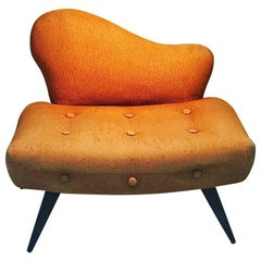 1940s Lounge Chair in the Manner of Grosfeld House